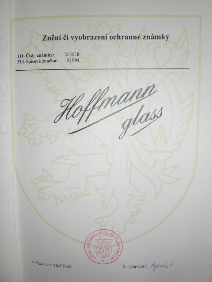 Hoffmann glass