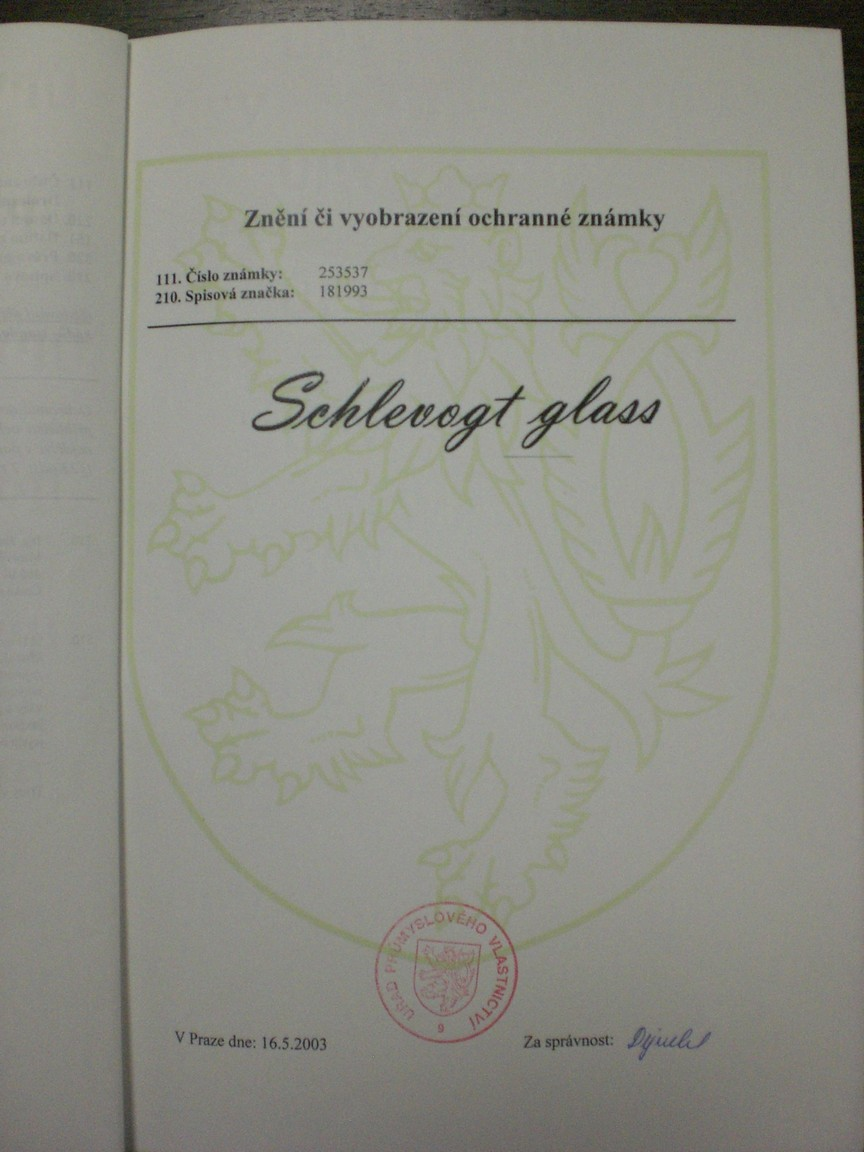 Schlevogt glass